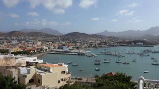 Hafen von Mindelo / Sao Vicente.