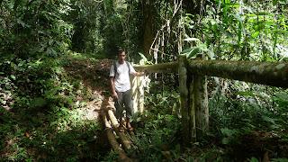 Wanderung entlang der Rio Diablo Wasserleitung.