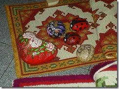 Pedras decorativas para jardim e tapete
