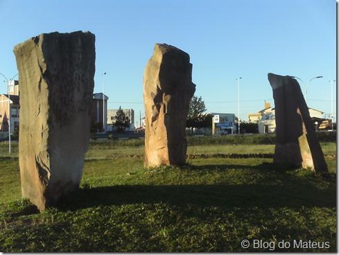 Pedras do Aquífero Guarani em Lages SC