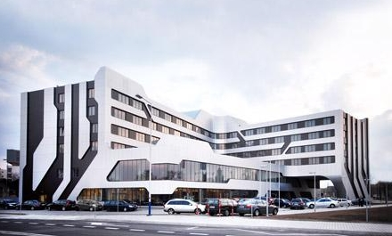 Conceptual hotel in Krakow