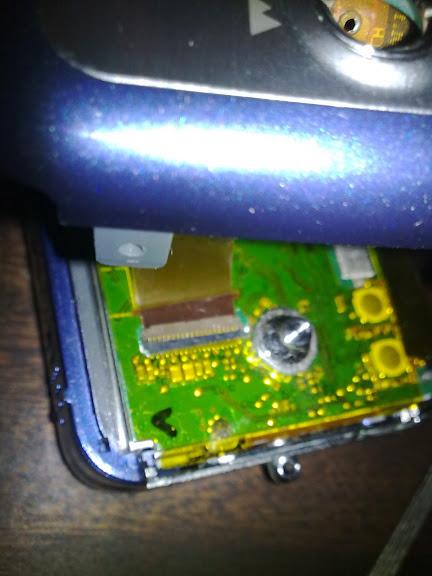 Cambiar LCD camara digital kodak V803 en pocos pasos
