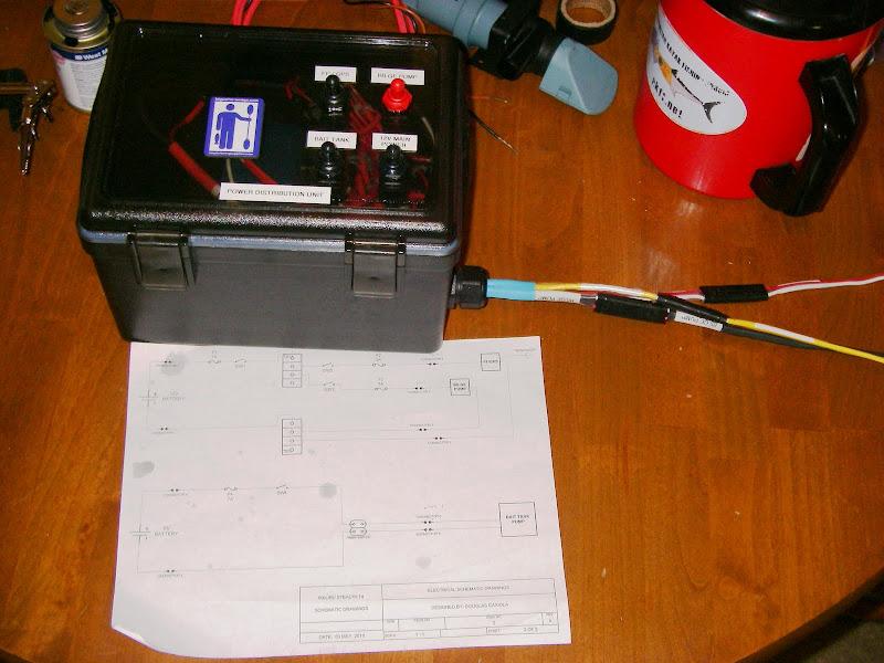the overloaded kayak Battery Gauge Wiring kayak battery wiring diagram