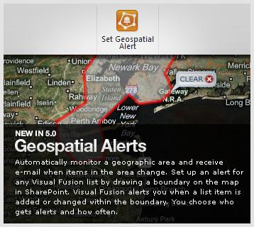 Visual Fusion Geospatial Alerts