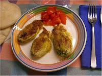 Fiori di zucchina ripieni