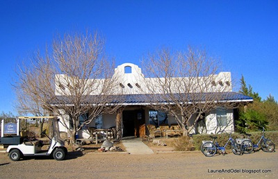 Office at Rusty's RV Ranch
