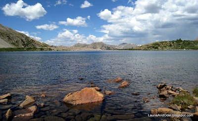 Pomeroy Lake, Colorado Rockies, July 2008