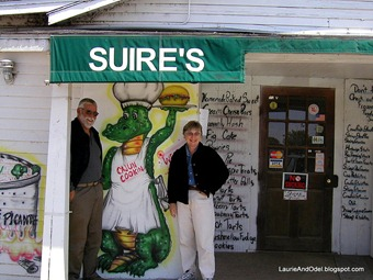 Jim and Diane at Suire's