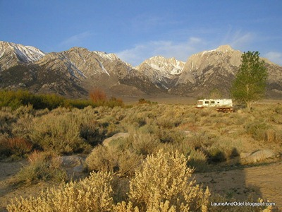 Near Lone Pine, CA, in 2004