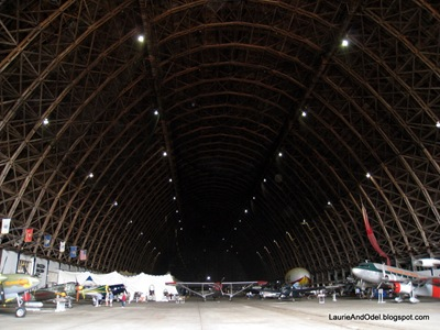 Blimp Hanger, outside looking in