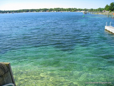 Lake Michigan waters along the Leelanau Peninsula