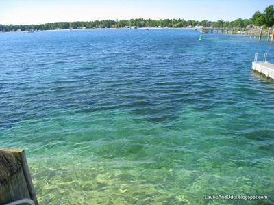 Lake Michigan waters along the Leelanau Peninsula