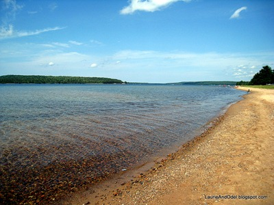 Lake Superior at Munising Tourist Camp