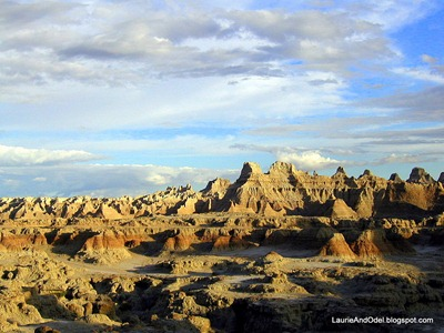 Badlands National Park on a previous visit.
