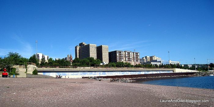Duluth Lakeshore walk
