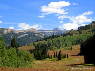 Hiking at Grand Targhee