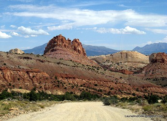 Along the Burr Trail in Capitol Reef