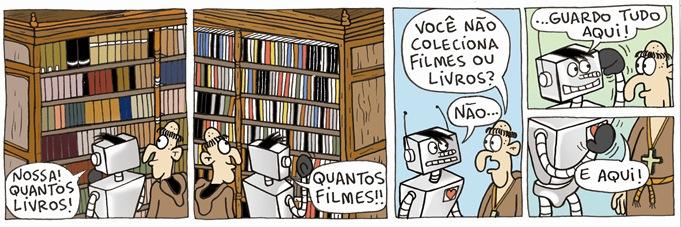 filmes e livros