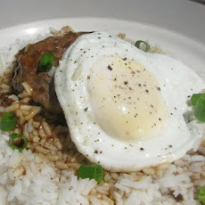 Hawaiian Loco Moco (Hearty Breakfast)