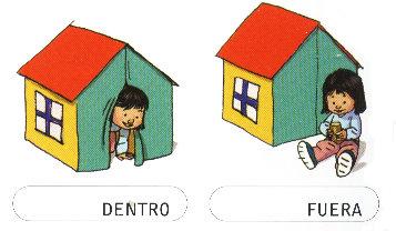 Aprendiendo los opuestos for Colores para afuera de la casa