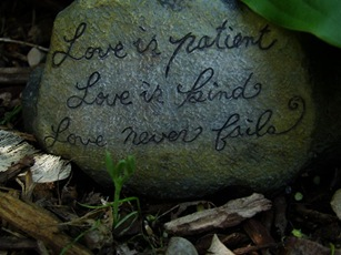 love is patient rock