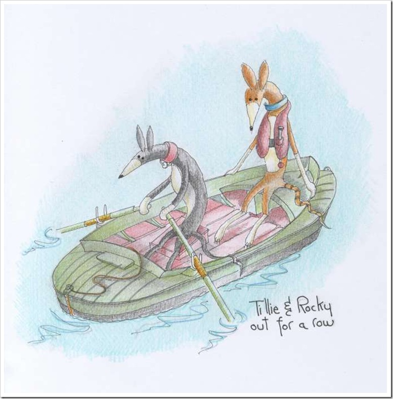 Tillie &amp; Rocky Rowing-1024