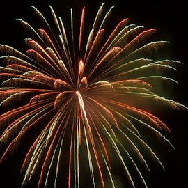 L.H.-1 by William Hamm - Abstract Fire & Fireworks ( william hamm, pa, fireworks, lock haven, clinton county )