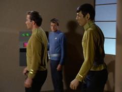 Kirk, Leslie, Spock
