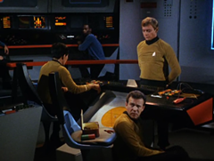 Harrison, Sulu, #42, Bobby, Bailey