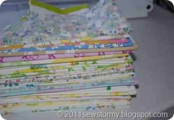vintage sheets stash
