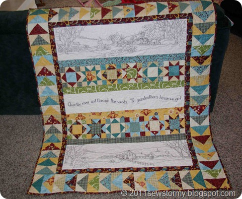 Over the River Quilt 2