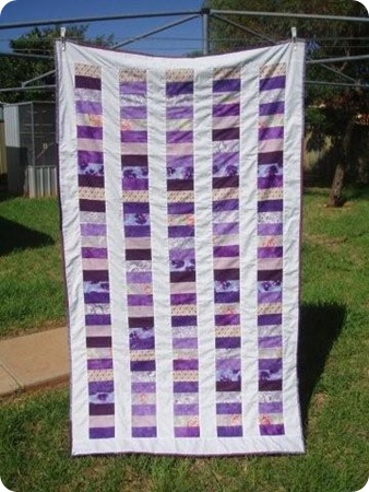 Coin Quilt Completed 001