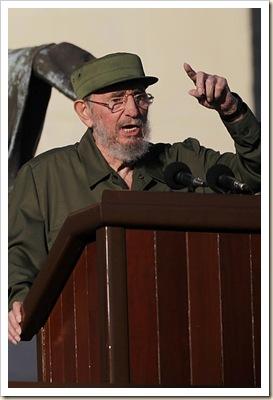 APTOPIX Cuba Castro