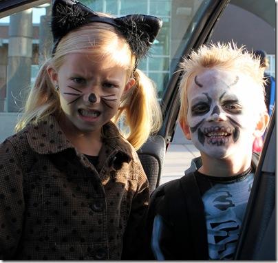 Halloween school