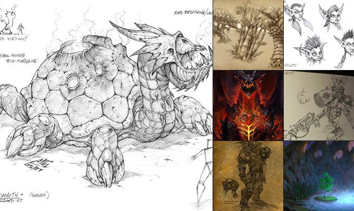 WoW Cataclysm Artworks anzeigen