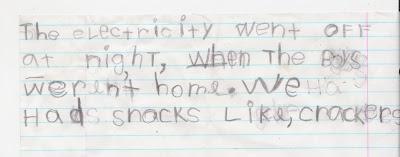 bria's writing