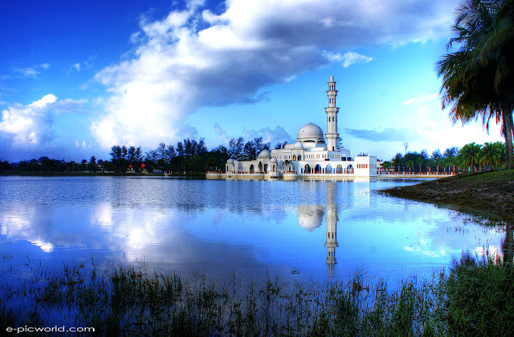 masjid kuala ibai hdr wallpaper