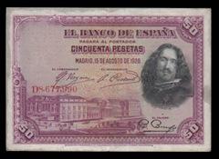 50_50-Pesetas_El-Banco-de-España_Bradbury-Wilkinson-y-Compañía-Grabadores-New-Malden-Surrey-Inglaterra_1928_1_a