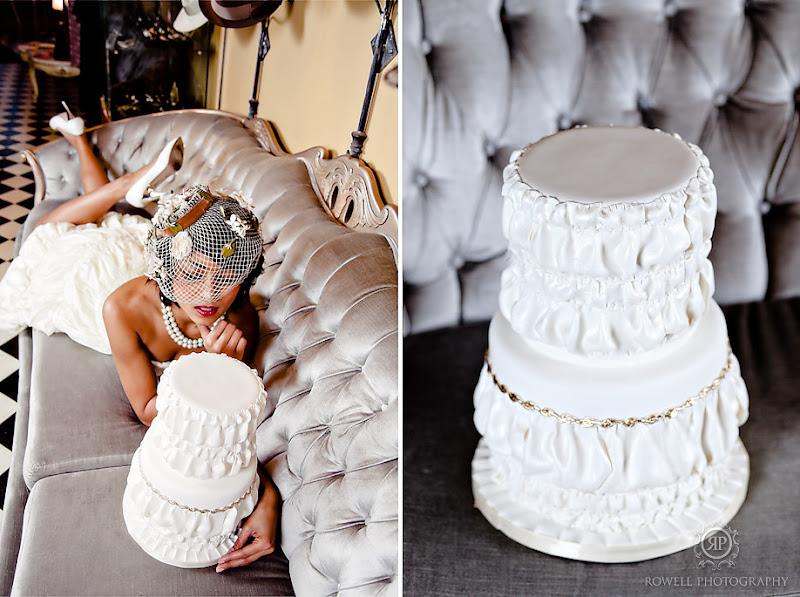 Bridal Cabaret Toronto cake - Rowell Photography