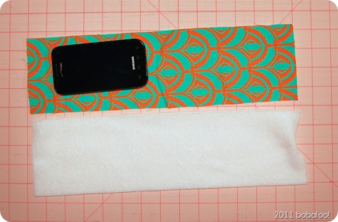 bobaloo! phone case tutorial measuring