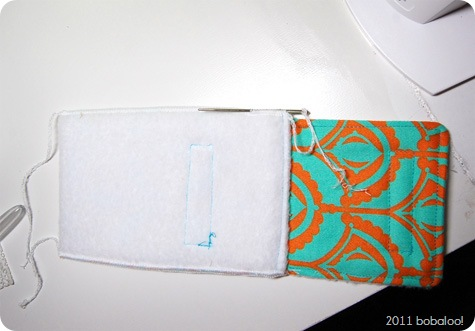 bobaloo! phone case tutorial serged