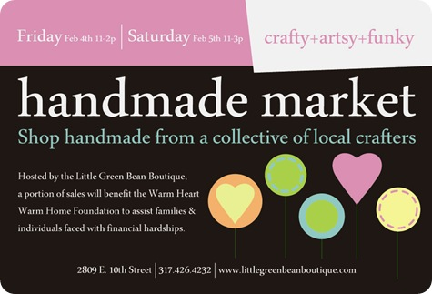 2 5 11 handmade market postcard