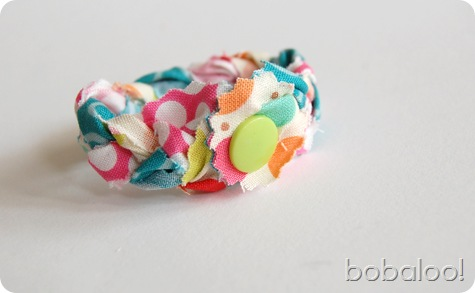 4 26 11 bobaloo fabric bracelet