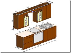 Мебель для кухни - Архитектоника. Классика