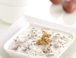Recipe Of The Day: Grapes And Walnut Raita