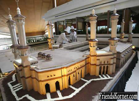 Masjid Made of Chocolate..!!!