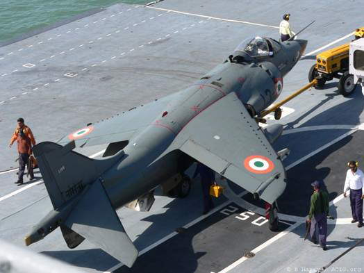 Indian Navy Viraat Harrier