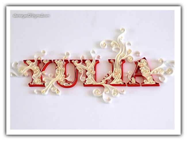 Paper Typography Art