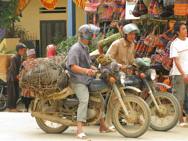 Street scene in Bac Ha