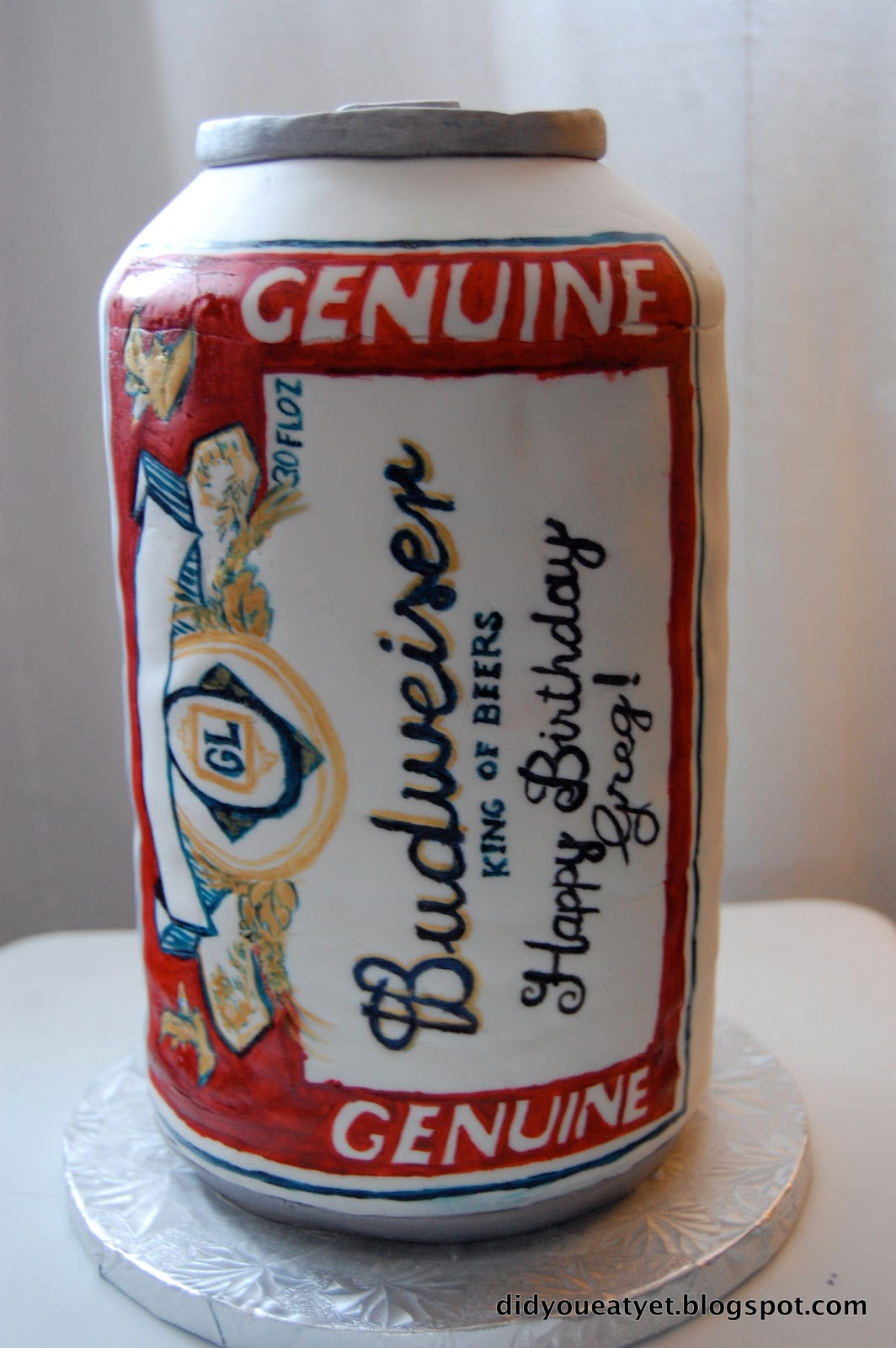 Budweiser Can Cakes
